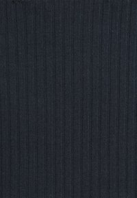 Glamorous Petite - TIE FRONT GATHERED PANEL WITH PUFF SHORT SLEEVES - Blouse - navy - 2