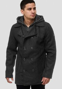 INDICODE JEANS - Short coat - anthracite - 3