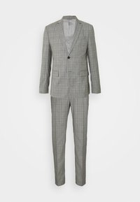 Calvin Klein Tailored - PRINCE OF WALES SUIT - Suit - grey - 10