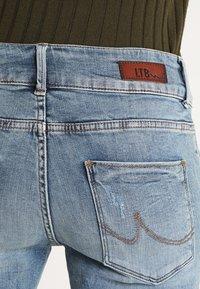 LTB - BECKY - Denim shorts - lewa wash - 5