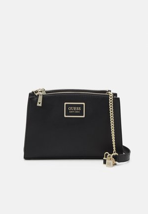 HANDBAG TYREN STATUS CROSSBODY - Across body bag - black