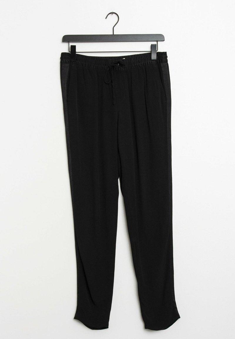 Oui - Trousers - black