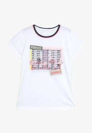 TEENAGER - T-shirt imprimé - soft white