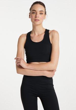 T-shirt de sport - schwarz