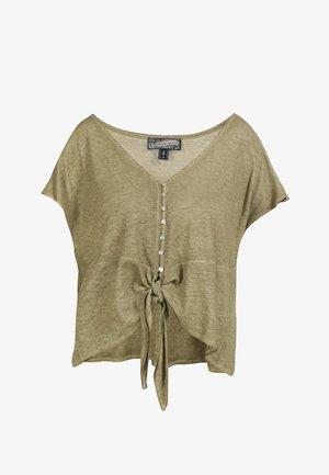 Camiseta estampada - oliv