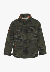 Superdry - ROOKIE 4 POCKET JACKET - Winter jacket - olive - 0