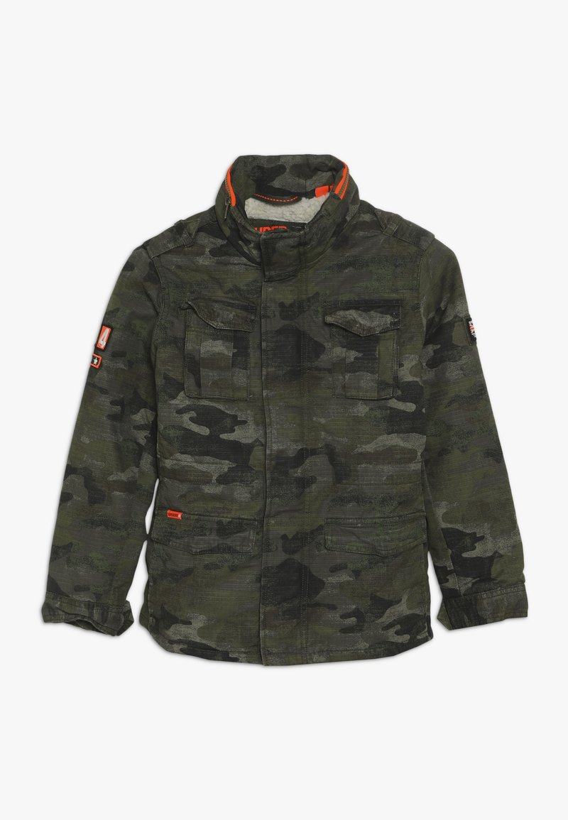 Superdry - ROOKIE 4 POCKET JACKET - Winter jacket - olive