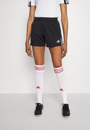 TIRO - Pantalón corto de deporte - black