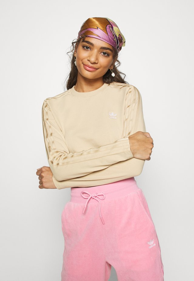 CROP - Long sleeved top - hazbei