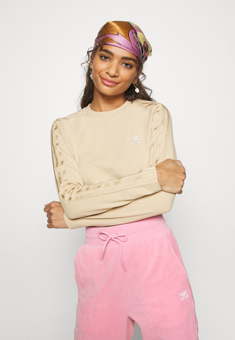 adidas Originals - CROP - Long sleeved top - hazbei