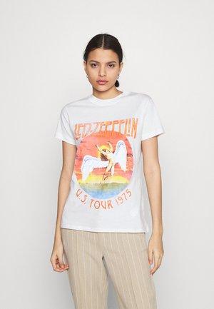 CLASSIC LED ZEPPELIN - Print T-shirt - gardenia