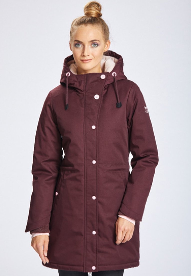 Best Price Women's Clothing myMo Parka bordeaux r7UhTO9cn