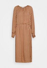 TOVE DRESS - Maxi šaty - ginger root