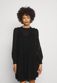NAF NAF - LEJACK - Day dress - noir - 0