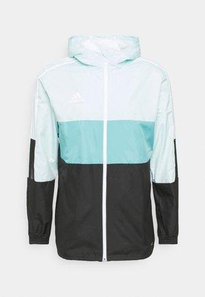 TIRO WINDBREAKER - Training jacket - halo mint/black