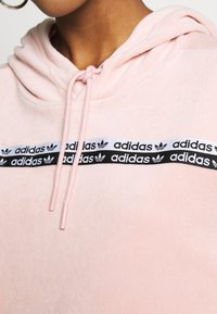 adidas Originals - CROPPED - Bluza z kapturem - pink spirit - 5