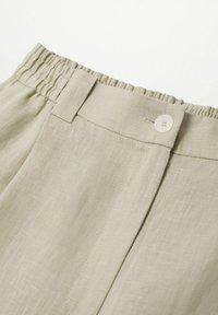 Mango - Trousers - vert pastel - 7