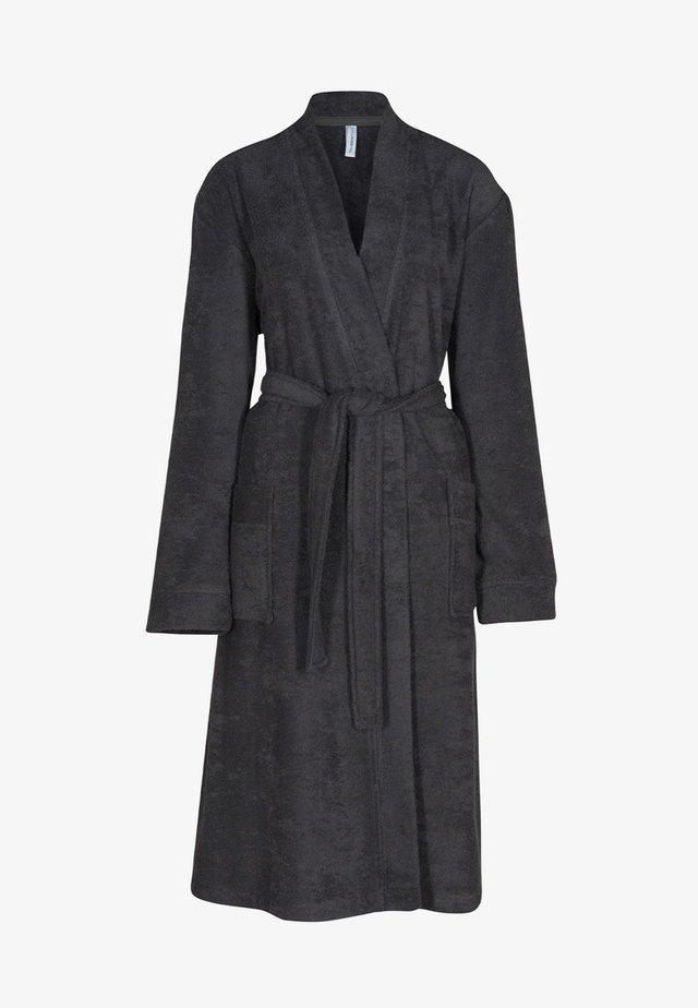 Dressing gown - anthrazit