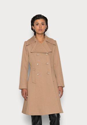 YOUNG LADIES WOVEN COAT - Classic coat - beige