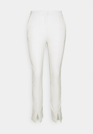 PUNTO PANTS - Bukse - off white