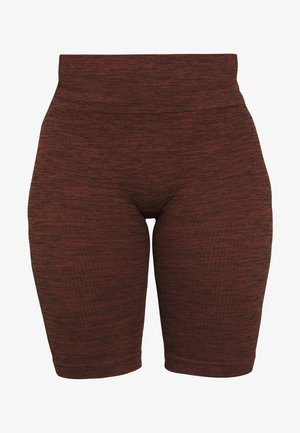 VIRTUE SEAMLESS BIKE SHORT - Legging - rust