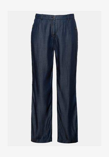 HOSE  - Trousers - blue denim