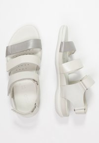 ECCO - FLASH - Sandals - wild dove/white shadow/white - 3