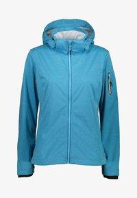 CMP - Soft shell jacket - ibiza melange - 0