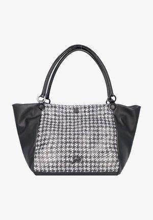 VIOLA  - Handbag - white-black