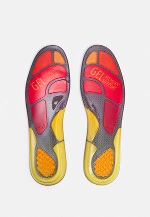 SNEAKER GEL SOLES - Vložky do bot - schwarz/rot/gelb/orange