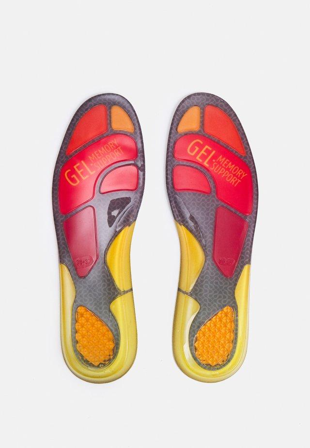 SNEAKER GEL SOLES - Steun- en inlegzolen - schwarz/rot/gelb/orange
