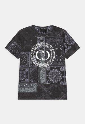 BANDANA  - T-shirt imprimé - black