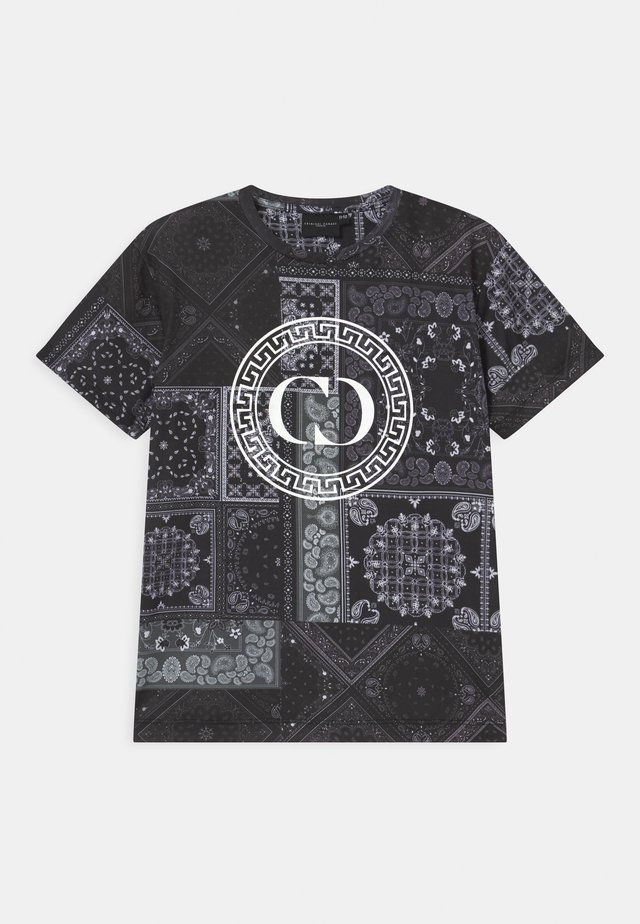 BANDANA  - T-shirt med print - black