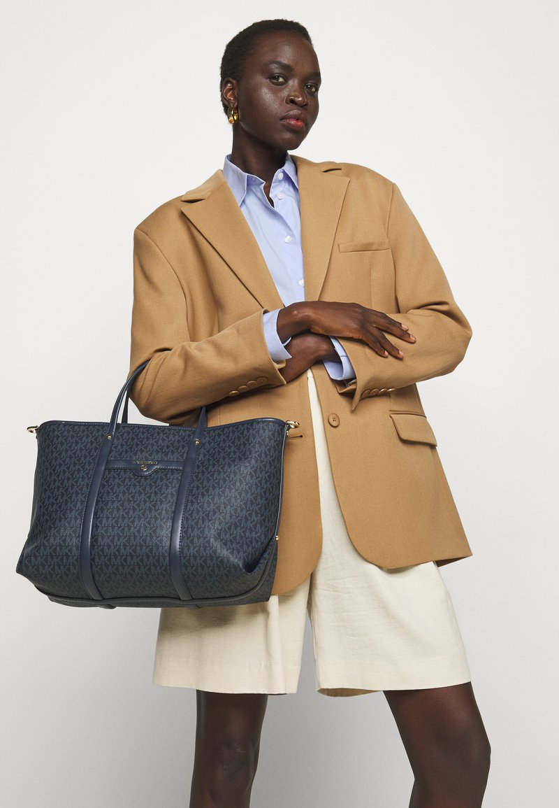 MICHAEL Michael Kors - BECK TOTE - Handbag - blue