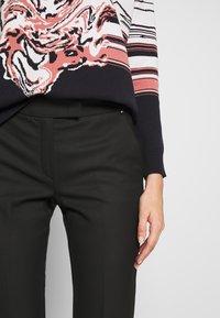 MAX&Co. - MONOPOLI - Spodnie materiałowe - black - 5