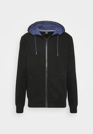 LANGARM - Zip-up hoodie - black