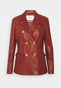Bally - Leather jacket - spice - 6