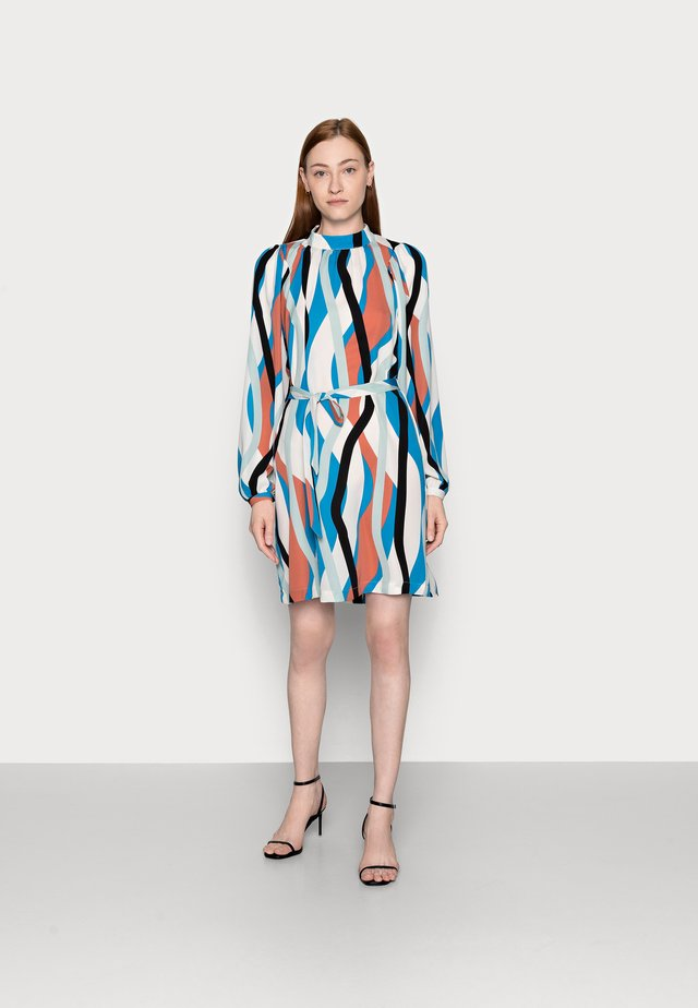 SHORT DRESS - Day dress - mykonos blue