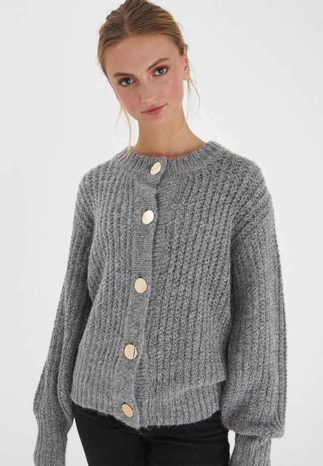 IHOSANNA CA - Sweater - grey melange