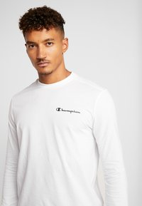 Champion - LONG SLEEVE - Langærmede T-shirts - white - 3