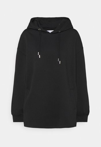 DOUBLE DRAWCORD SIDE SPLIT HOODIE