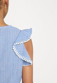 Molly Bracken - LADIES - Print T-shirt - light denim - 7