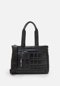 PARFOIS - BRIEFCASE FLUFFY SET - Laptop bag - black - 0