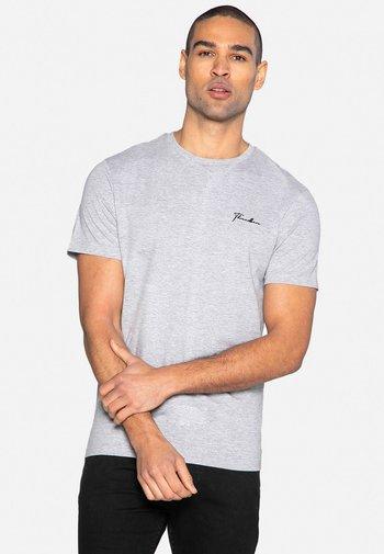 SMALL SCRIPT - Basic T-shirt - grey marl
