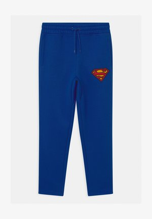 BOYS BATMAN  - Tracksuit bottoms - brilliant blue