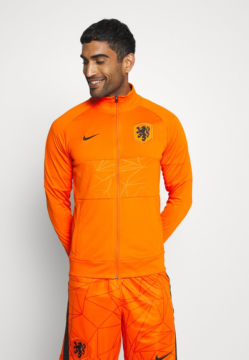 Nike Performance - NIEDERLANDE KNVB - National team wear - safety orange/black
