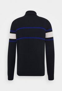 Antony Morato - TURTLE COLLAR WITH FRONT  - Trui - ink blu - 1