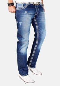 Alessandro Salvarini - Straight leg jeans - blau - 2
