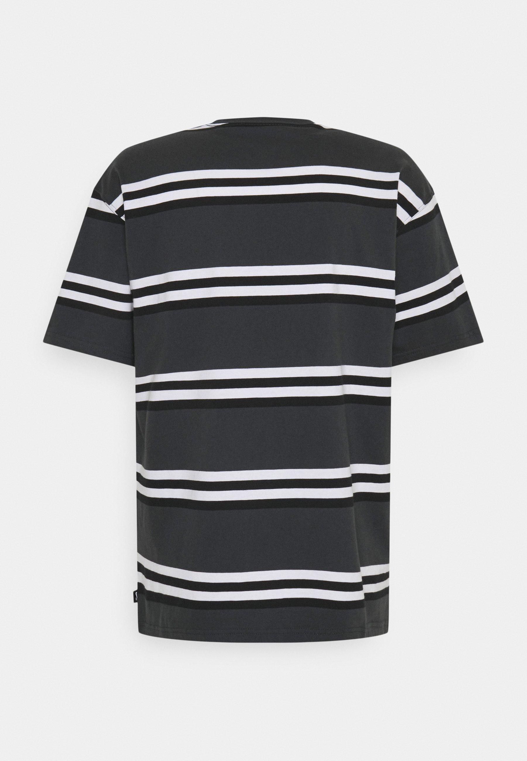 Men TEE STRIPE UNISEX - Print T-shirt