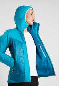 Salewa - HOOD  - Winter jacket - ocean - 3